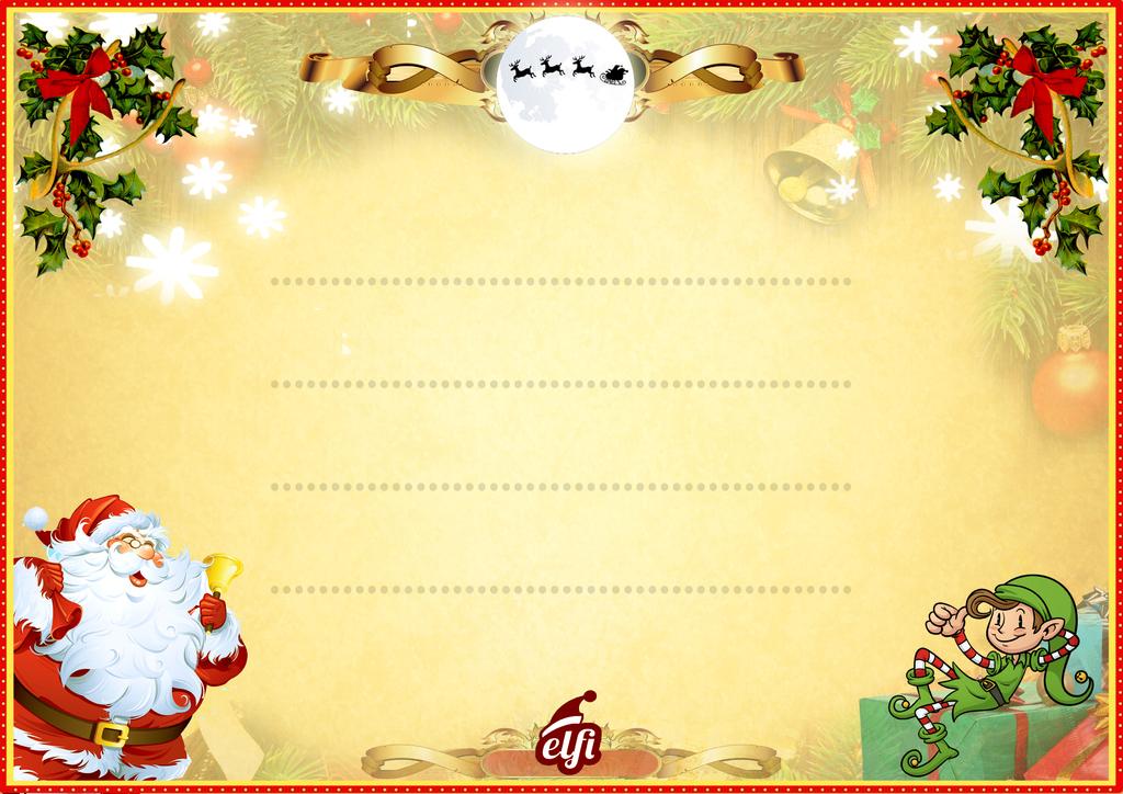 Geschenke Vom Weihnachtsmann Elfi