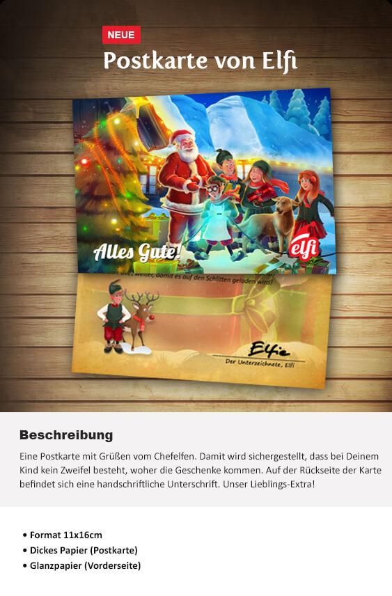 Brief Vom Weihnachtsmann Elfi